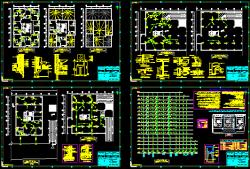 نقشه تاسیسات مكانیك مجتمع 75 واحدی 16 طبقه كامل